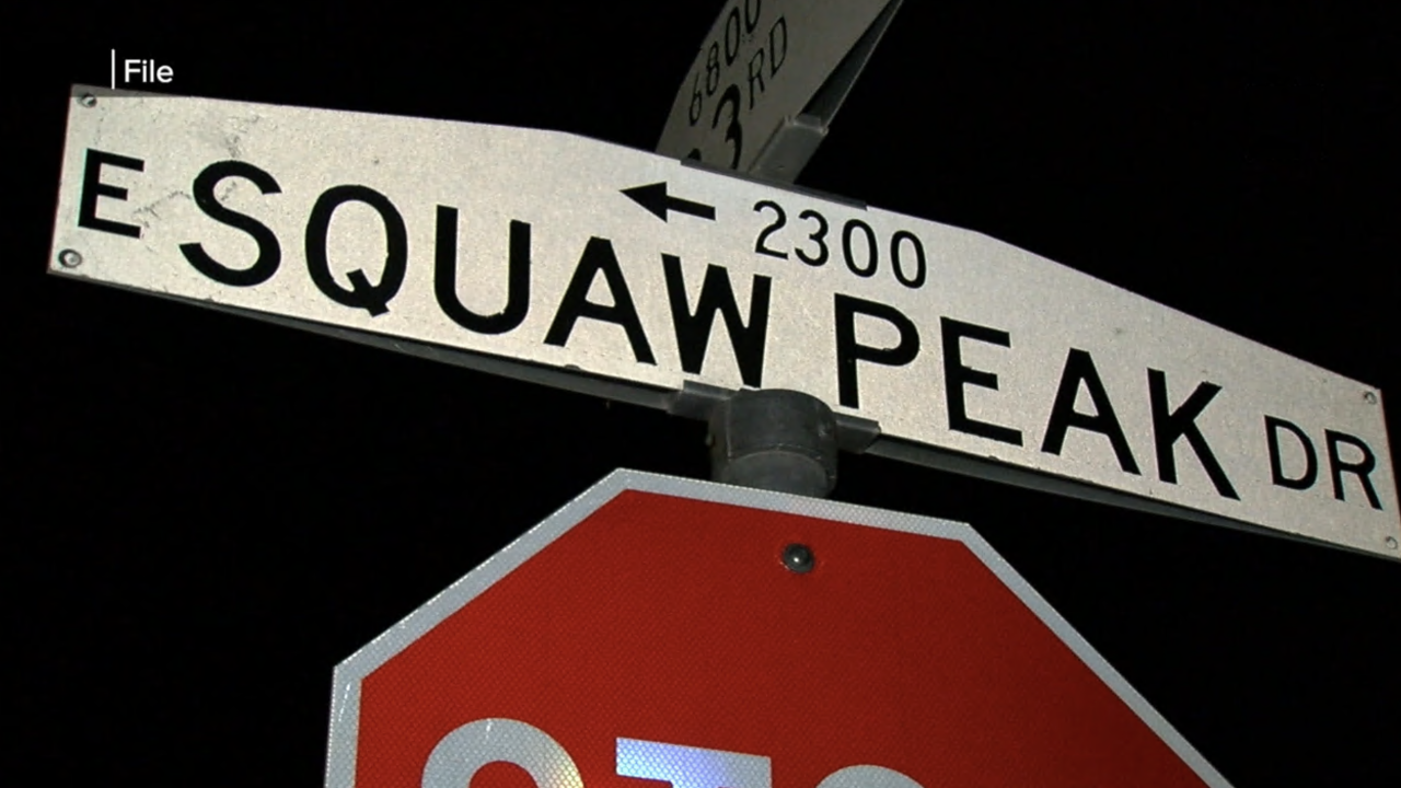 Squaw Peak Street Name Phoenix