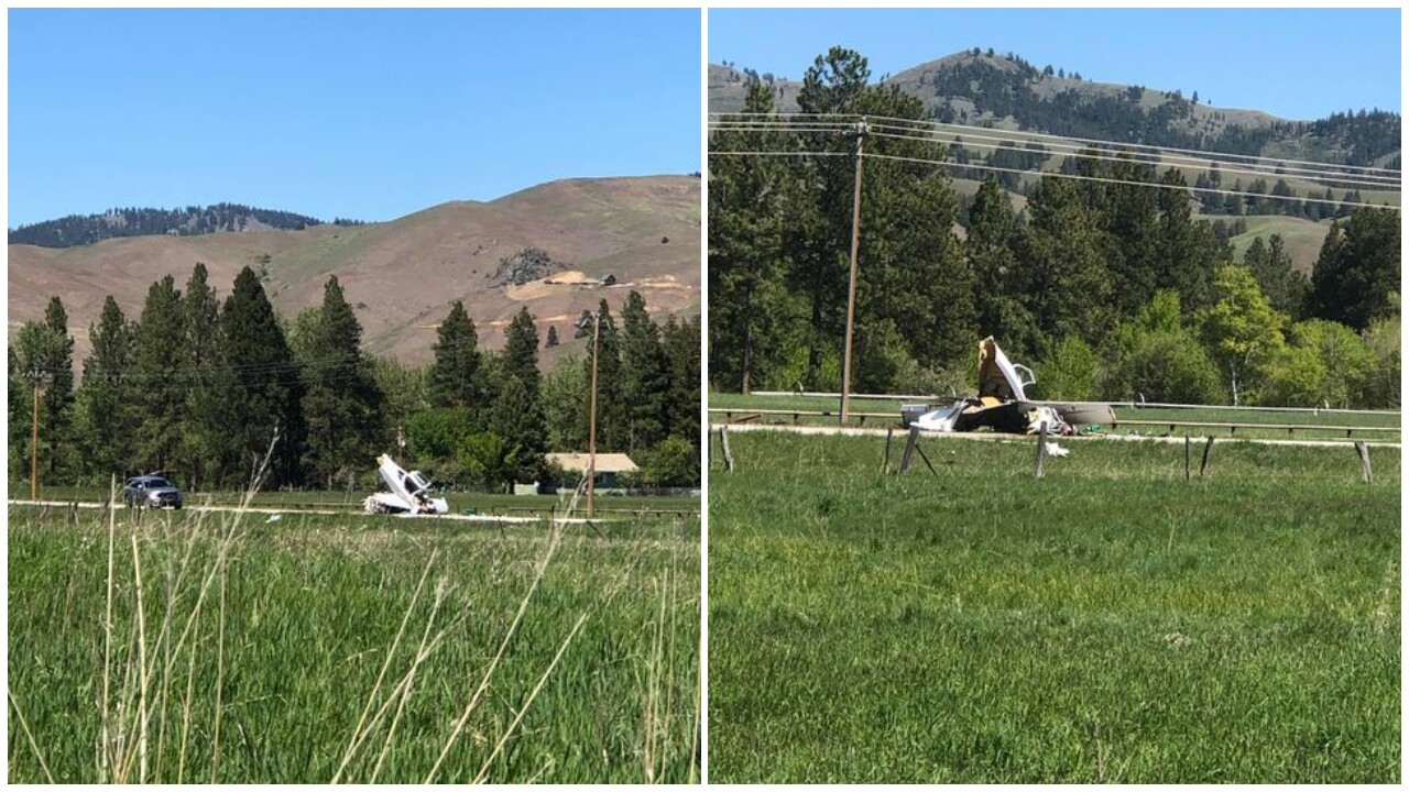 Two men injured after small plane crashes near Darby