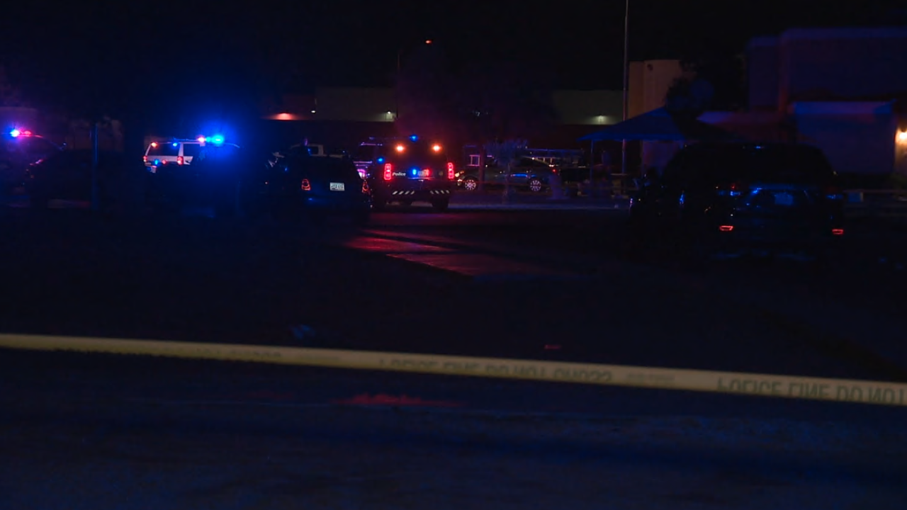 48th Street and Broadway Road shooting