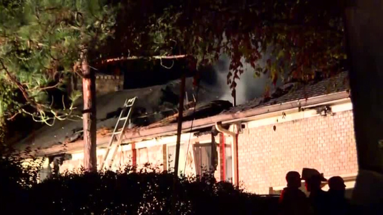 Brentwood home seriously damaged in fire