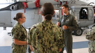 AMW WTI Candidates Focus on Naval Beach Group in Ship-to-Shore Movement