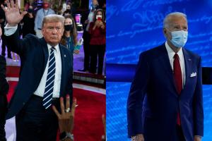 FACT CHECK: Rhetoric from Trump, Biden in the non-debate