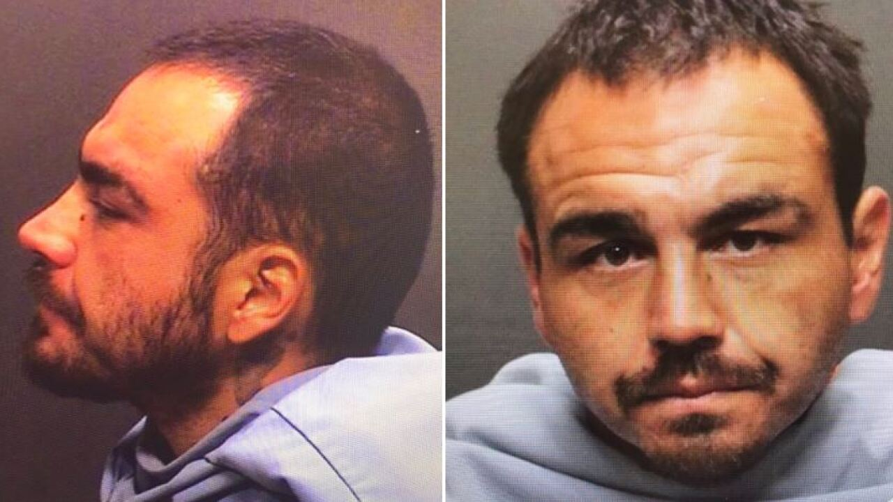 Police say 30-year-old Jonathan Luna faces charges including attempted robbery. Photo via TPD.