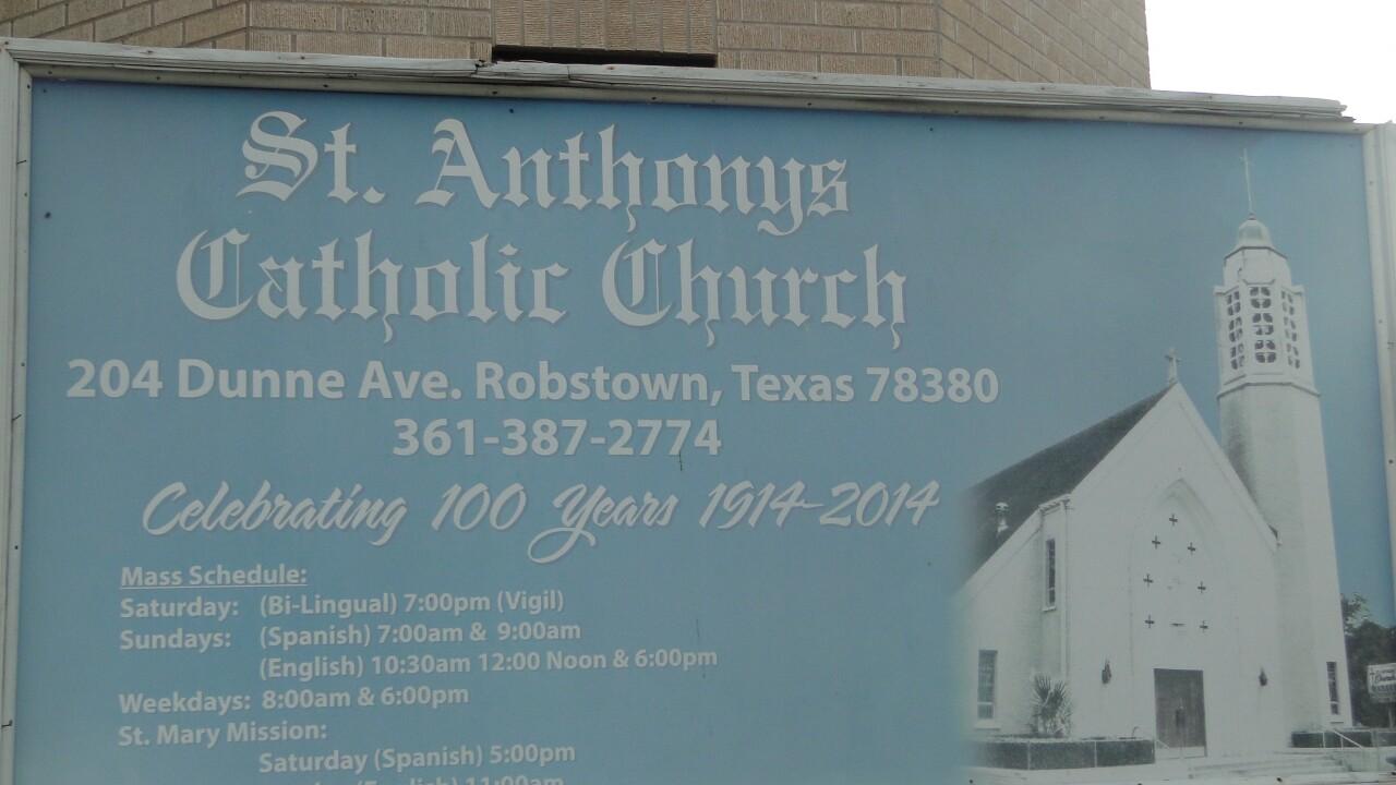 St. Anthony's vandalism photos