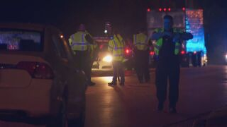 A man was critically injured after being hit by a car on Elm Hill Pike