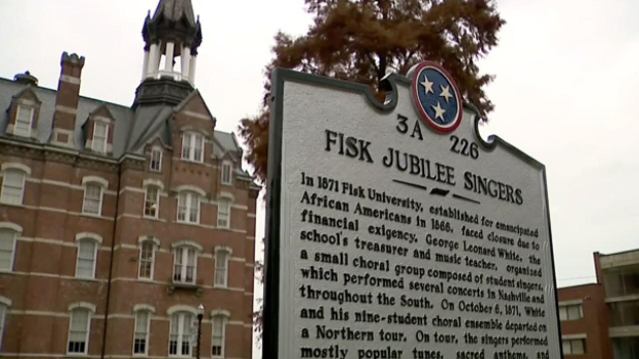 Marker Honors Original Fisk Jubilee Singers