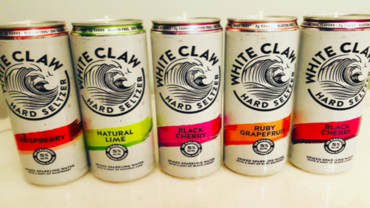 People Are Turning Empty White Claw Cans Into Pretty Candles