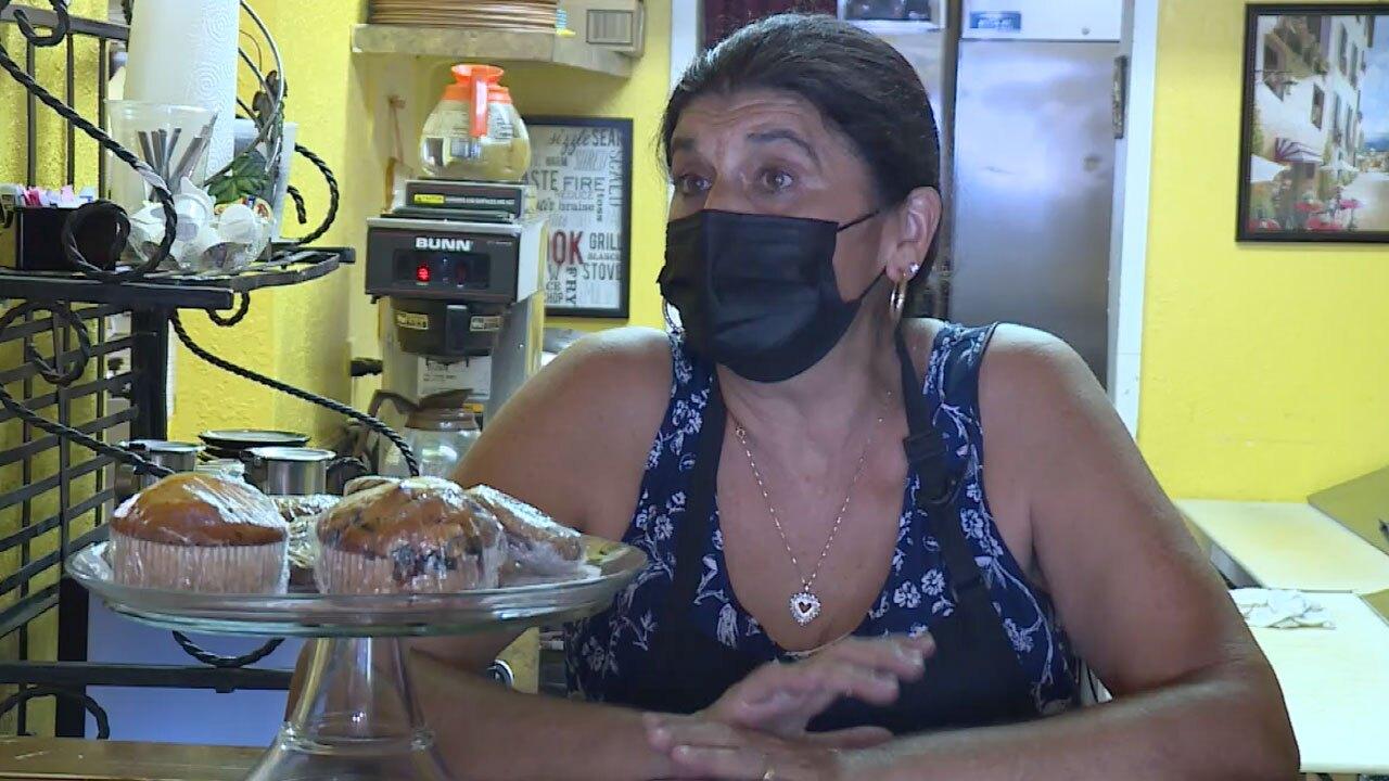 Michelle Stettner, Sanborn Cafe owner
