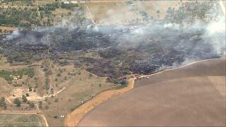 Wildfire in Byers_June 30 2020