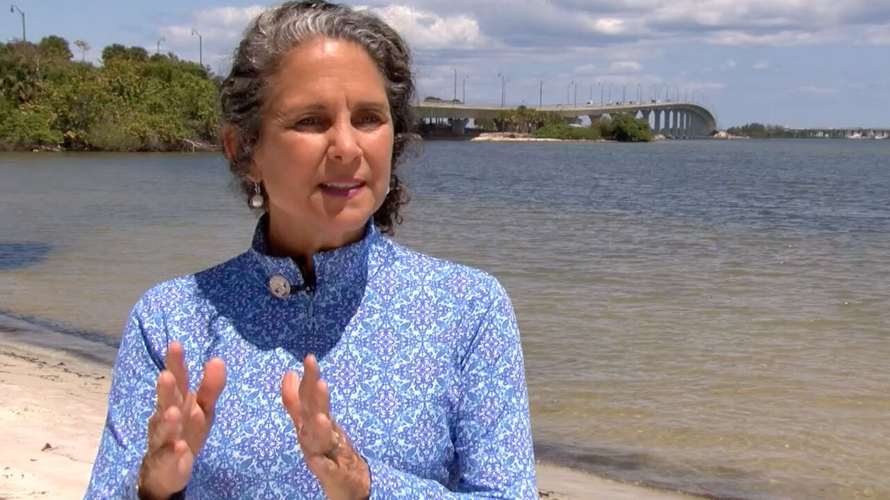 Jacqui-Thurlow Lippisch, member of the governing board of the South Florida Water Management District