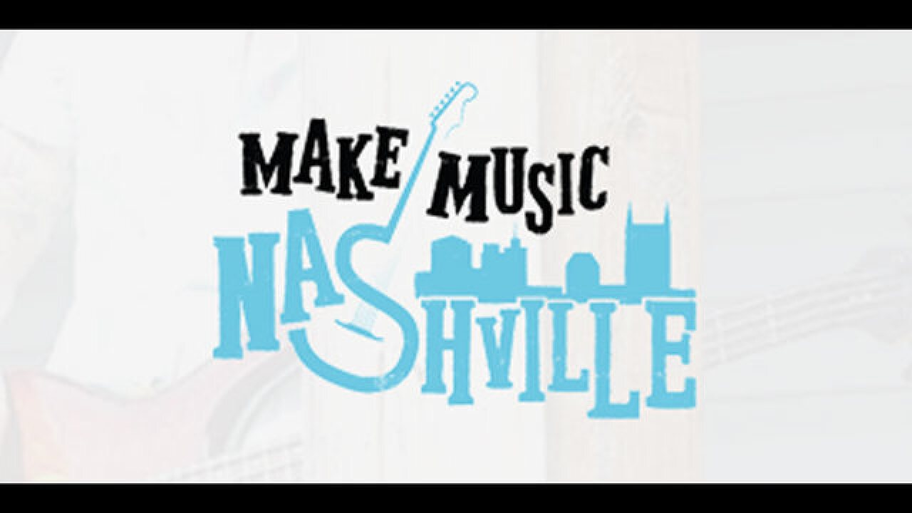 The Music City Celebrates Make Music Day