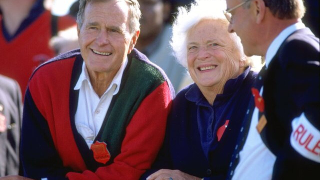 Photos: Remembering former First Lady Barbara Bush