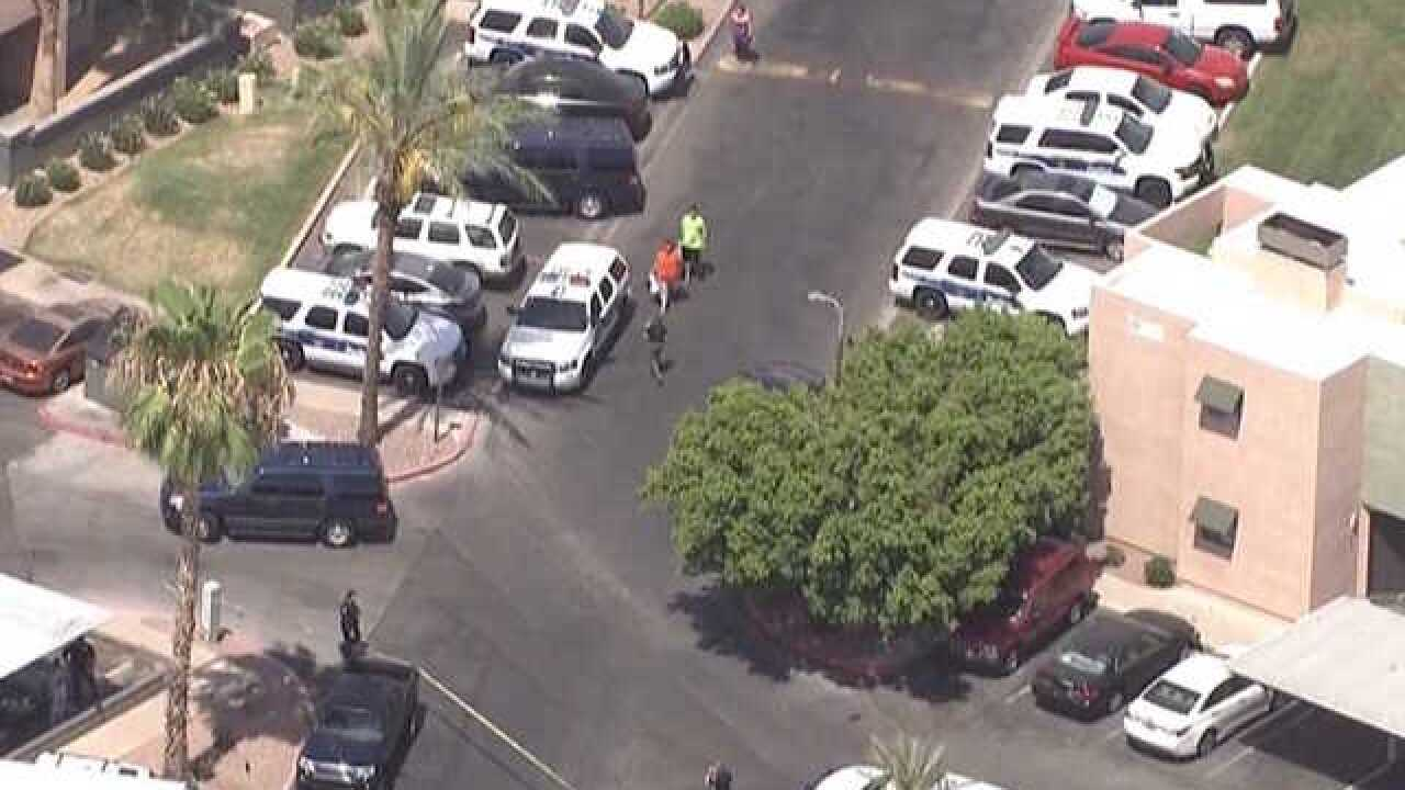 Suspect hospitalized after officer-involved shooting in north Phoenix