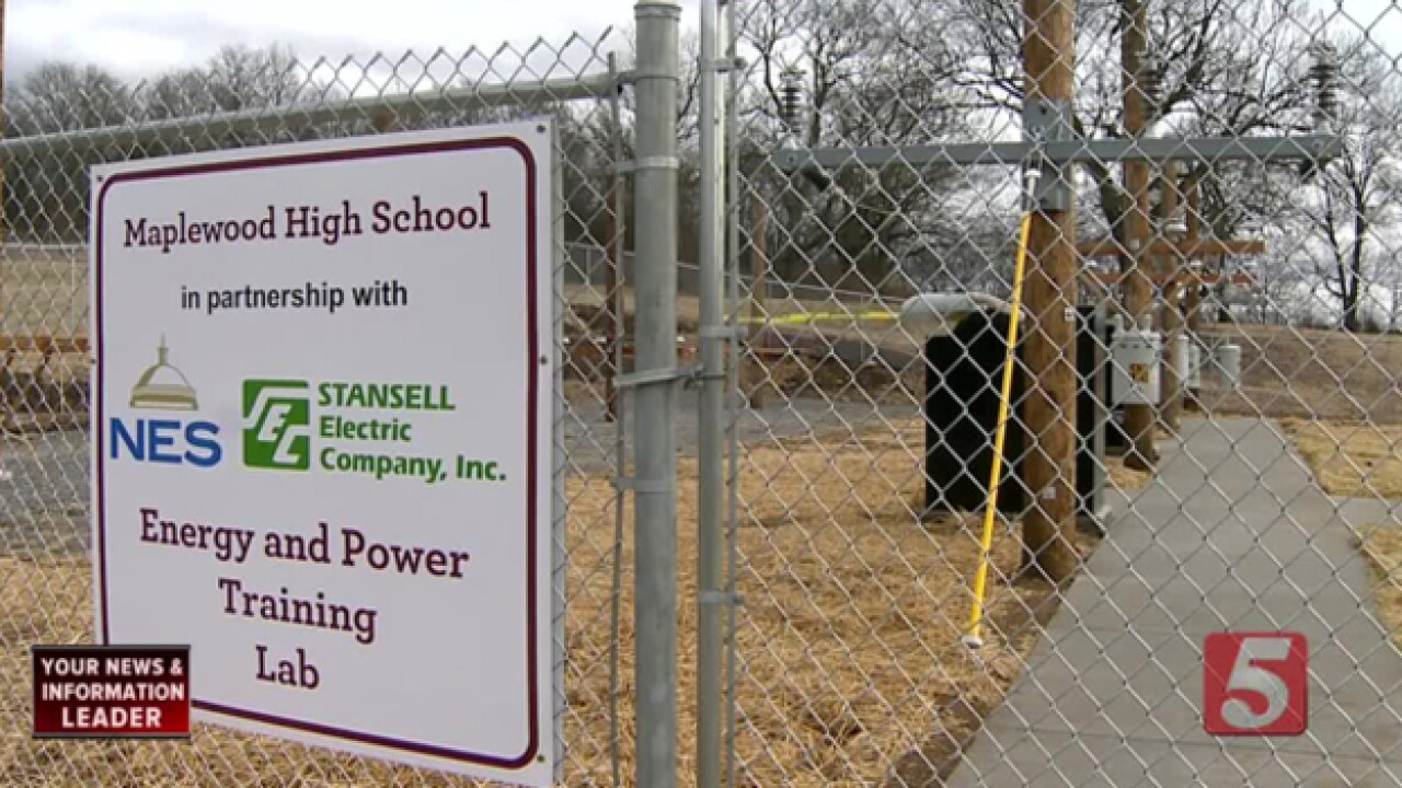 Maplewood High To Launch Electrician Lab