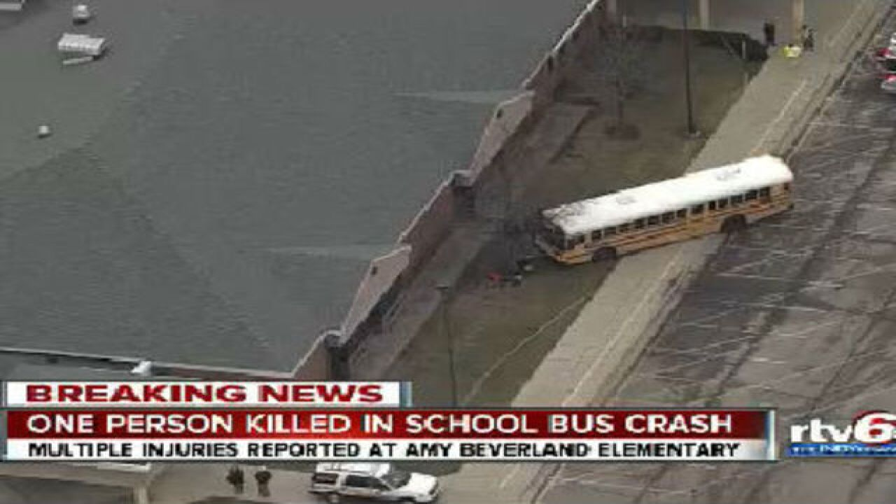 Principal hit by bus pushed kids out of the way