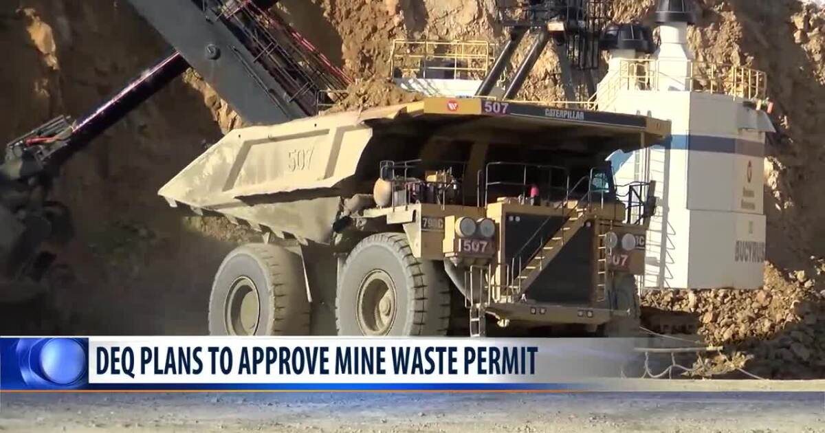 Permit to expand Yankee Doodle Tailings expected to get thumbs up