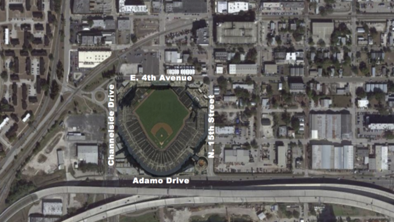 Ybor City picked as possible location for Rays