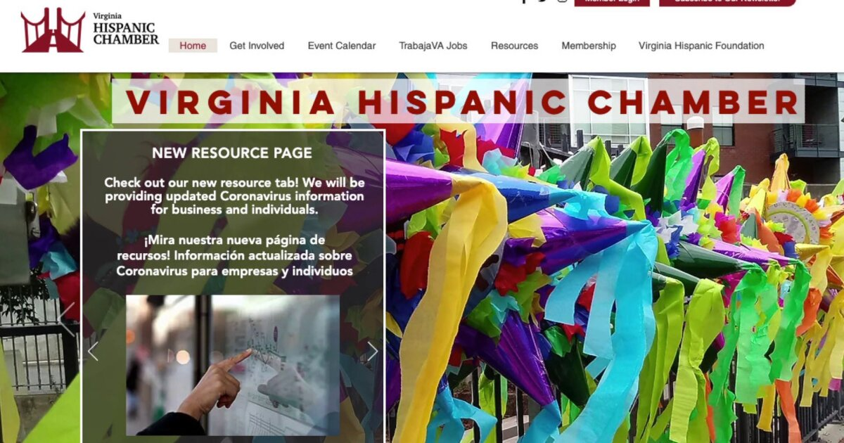 Virginia Hispanic Chamber Of Commerce Offering Help During Pandemic