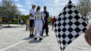 IndyCar lovers tie the knot outside of IMS ahead of Grand Prix