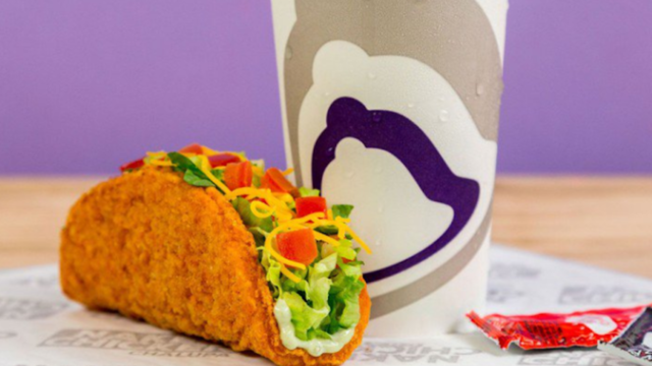 Taco Bell's newest innovation: A fried chicken taco shell