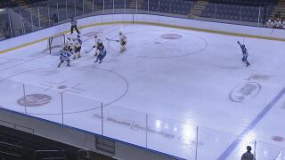 Air Force hockey swept by AIC on opening weekend