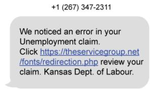 KDOL phishing