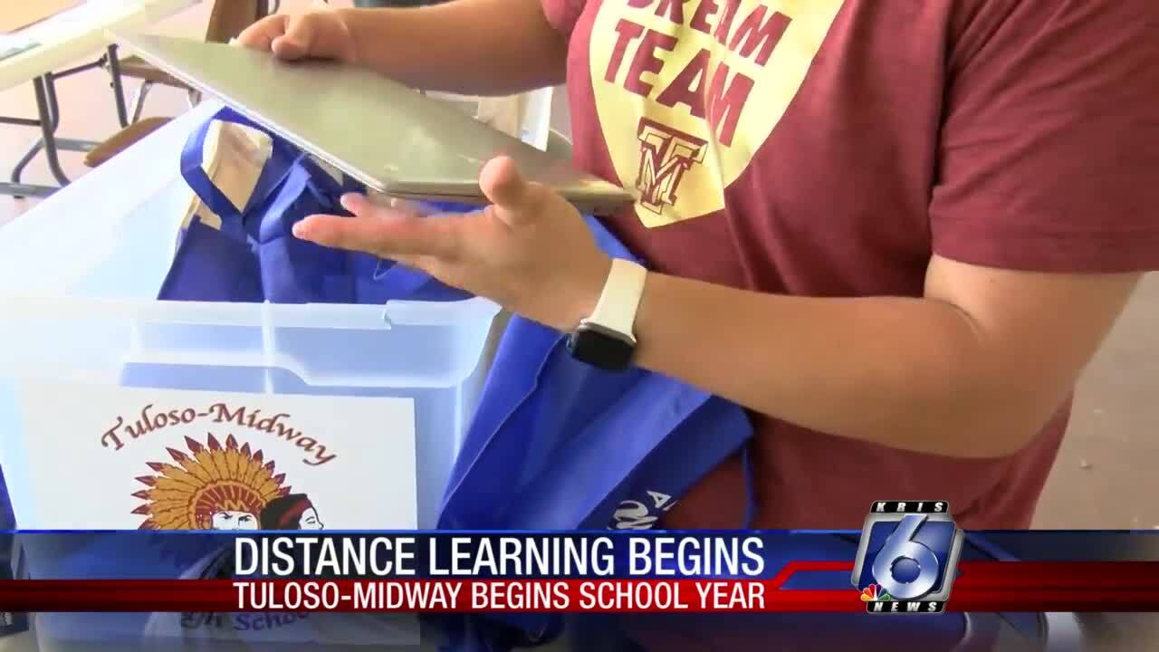 Tuloso-Midway-begins-school-year-distance-learning