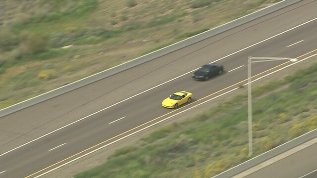 PHOTOS: Pursuit ends in officer-involved shooting in north Phoenix