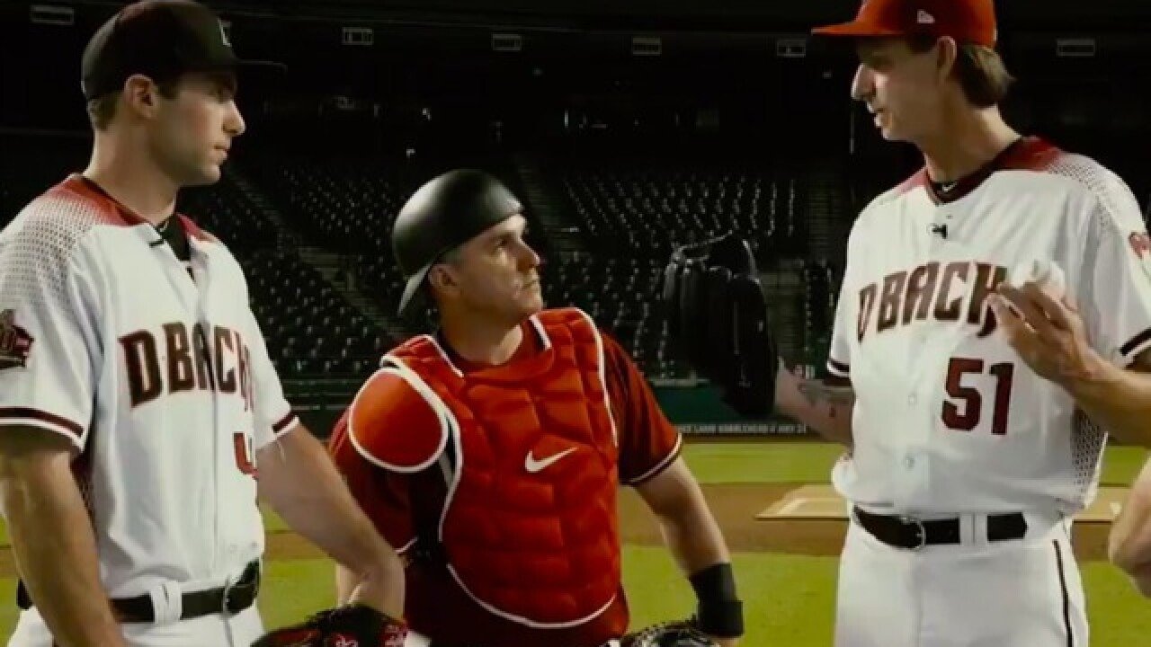 WATCH: Diamondbacks recreate famous 'Bull Durham' scene to promote alumni game