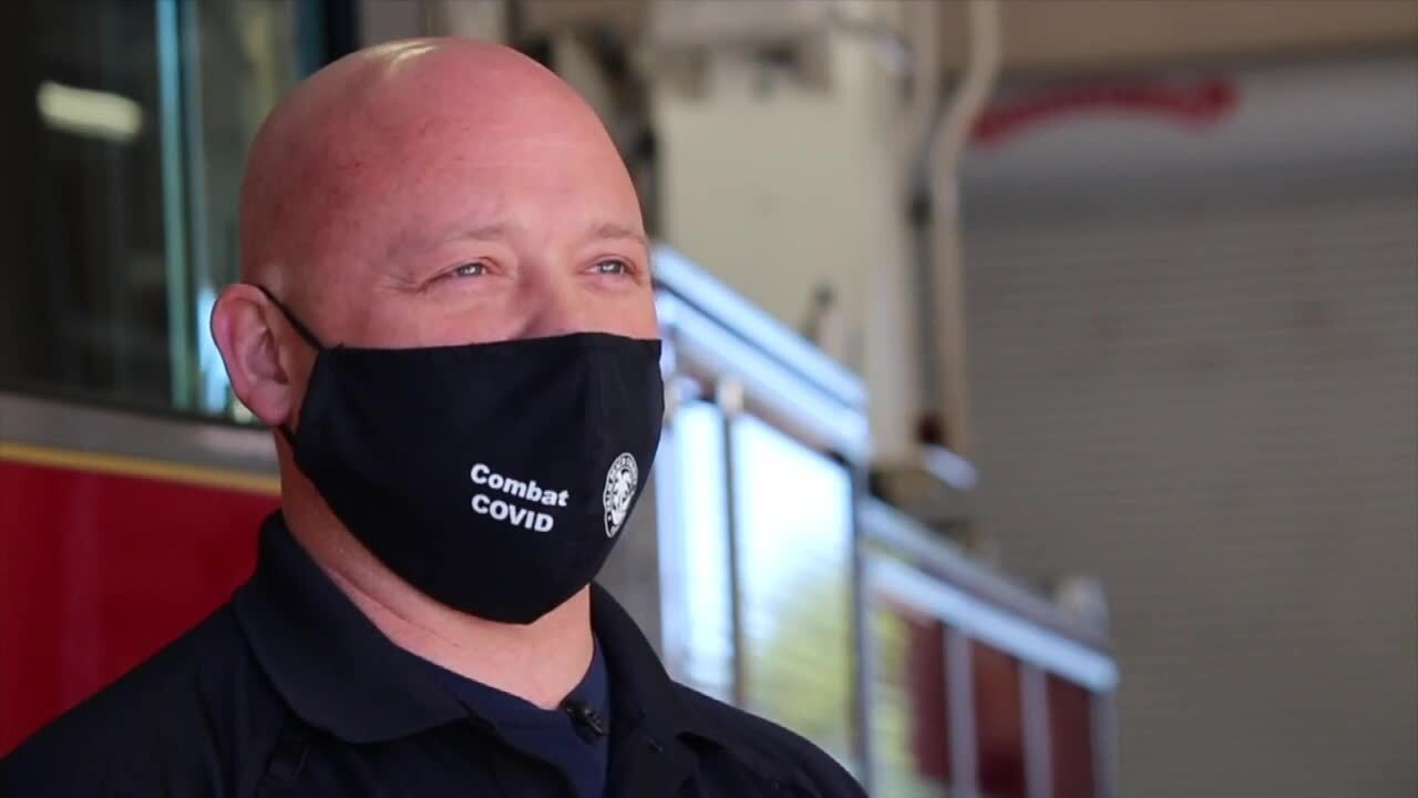 Delray Beach Fire Rescue Capt. James Bast says he had coronavirus