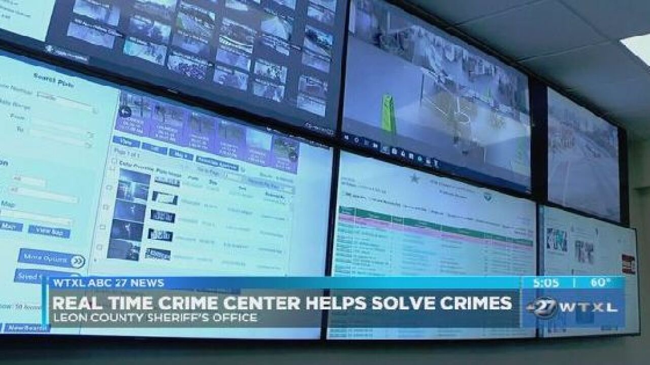 Real Time Crime Center helping LCSO solve crimes