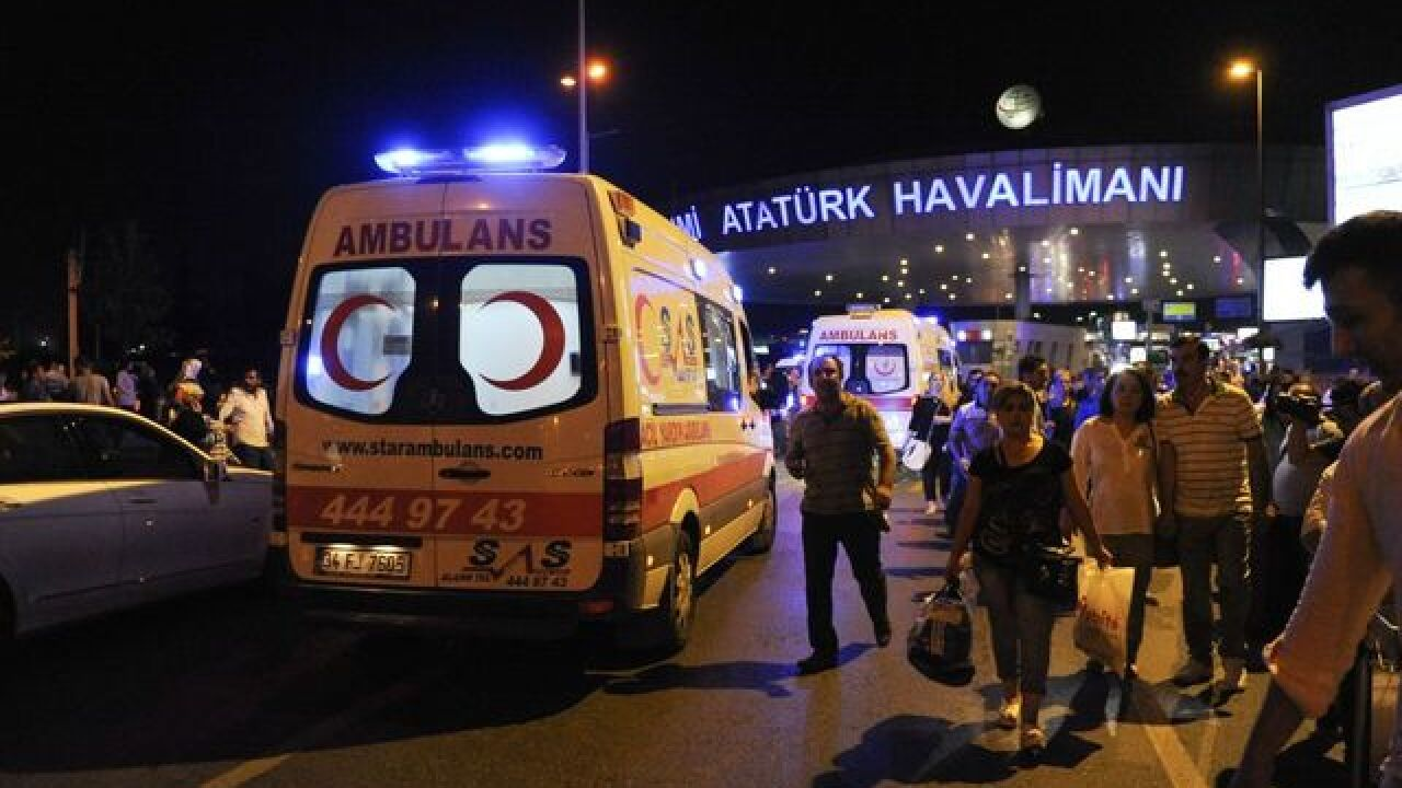 Explosions at Istanbul airport: 36 killed, 147 wounded