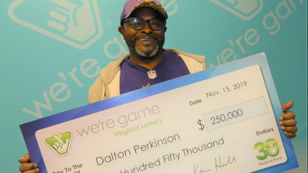 Richmond man wins $250,000 on lottery scratcher: 'I cried all the way home'