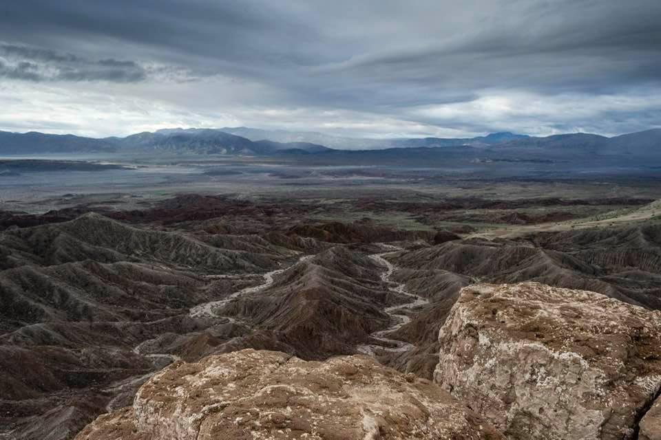 Rain soaks Anza Borrego Desert State Park