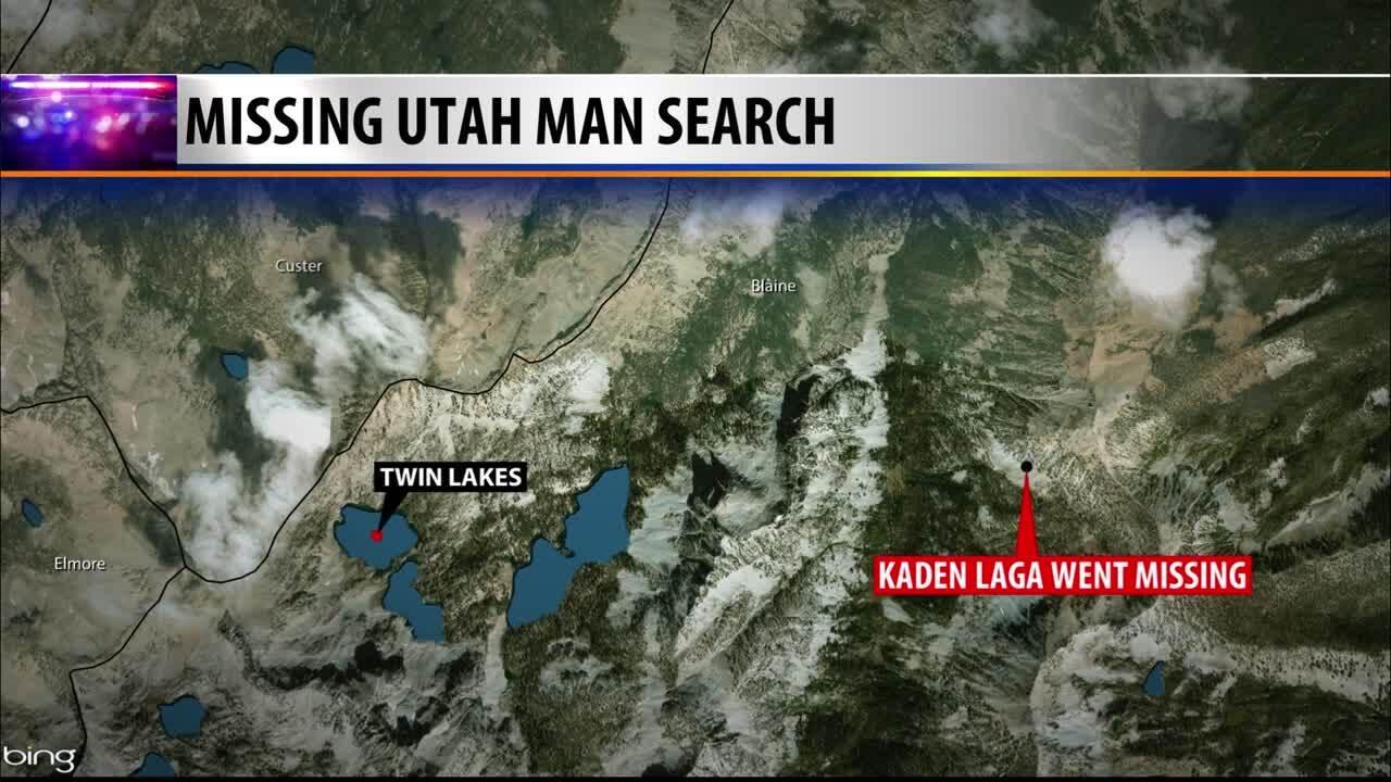 Missing Utah Man Map
