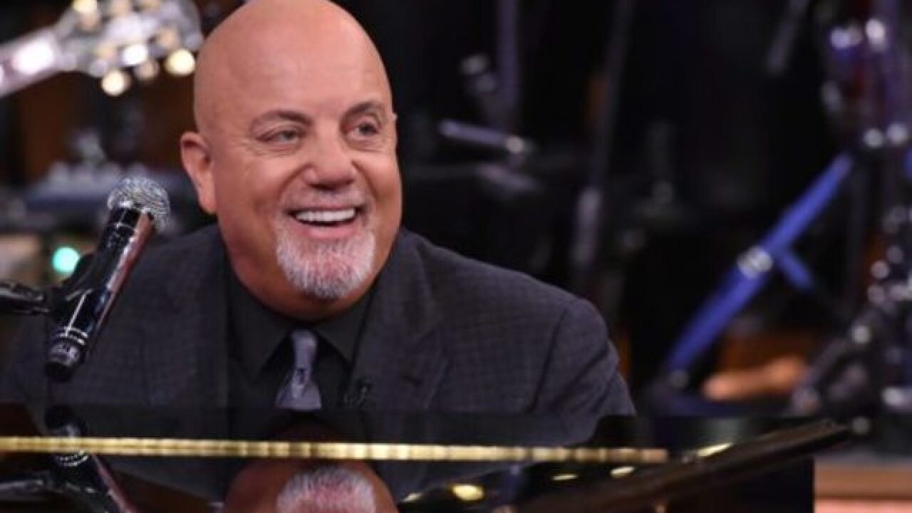 The Piano Man Billy Joel, 68, welcomes baby number three