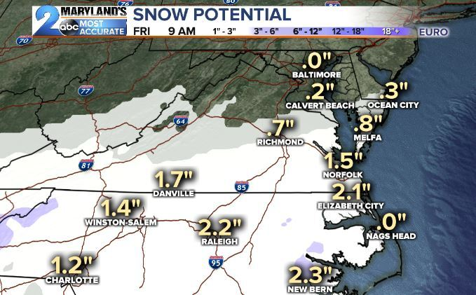 Euro 12z Totals February 19, 2020