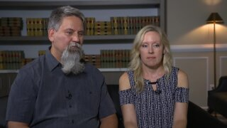 This couple conceived through IVF. Years later, the father found out he wasn't biologically related