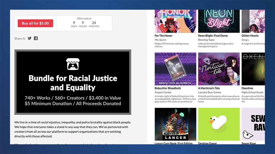 Bundle for Racial Justice & Equality screenshot