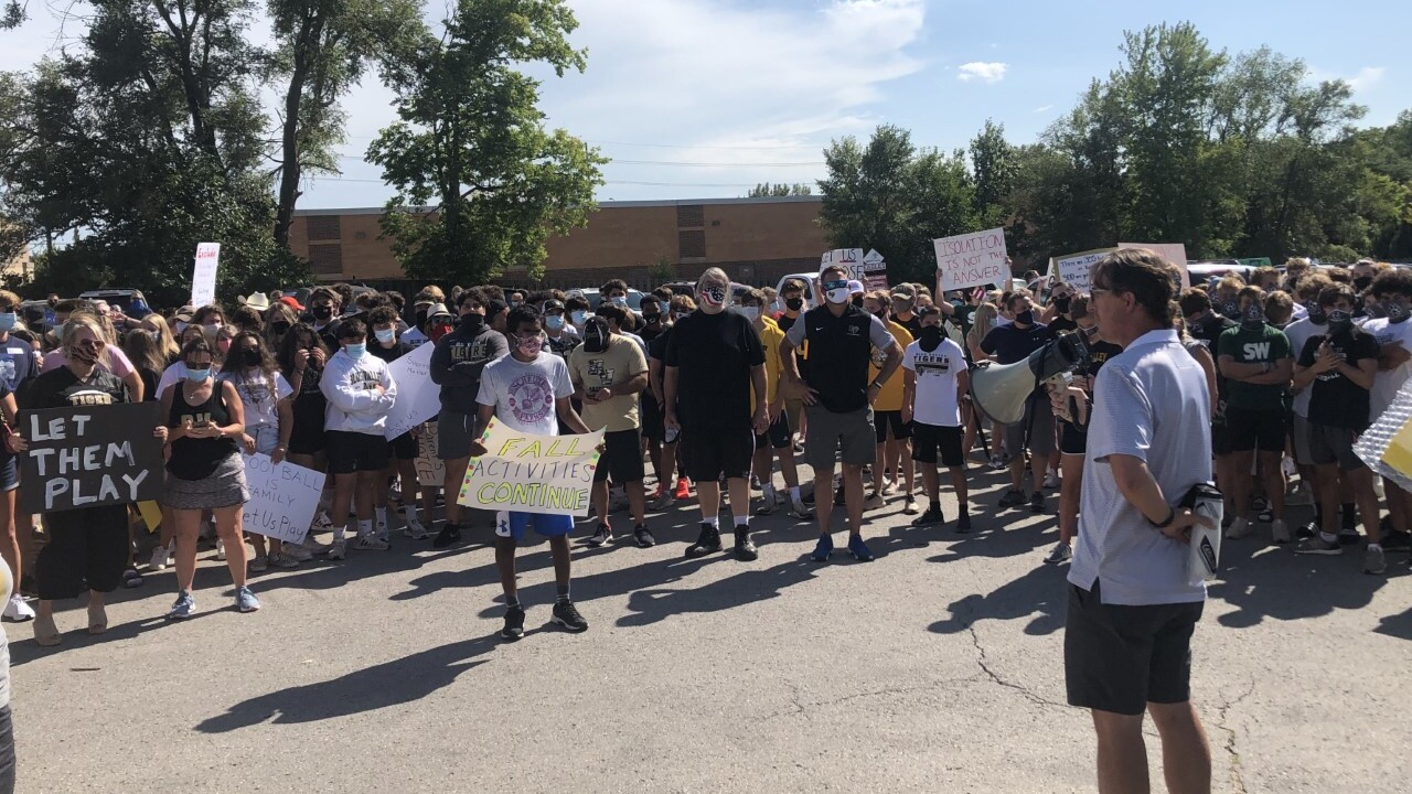 'Let Them Play' rally