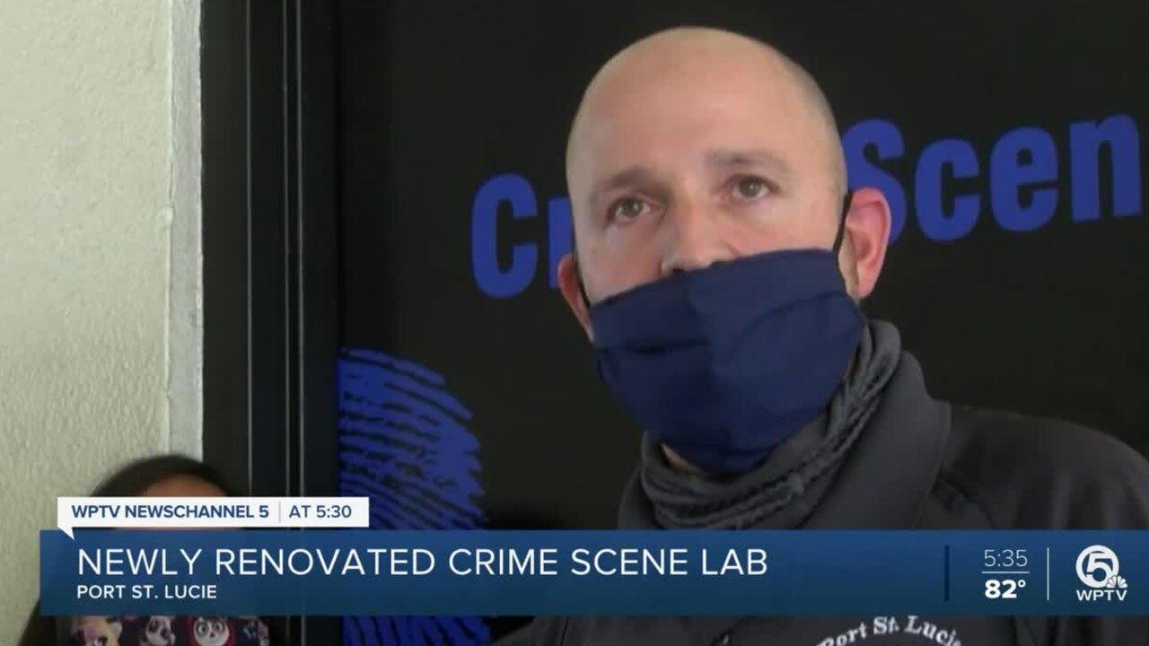 Port St. Lucie Crime Scene Investigator Joel Smith