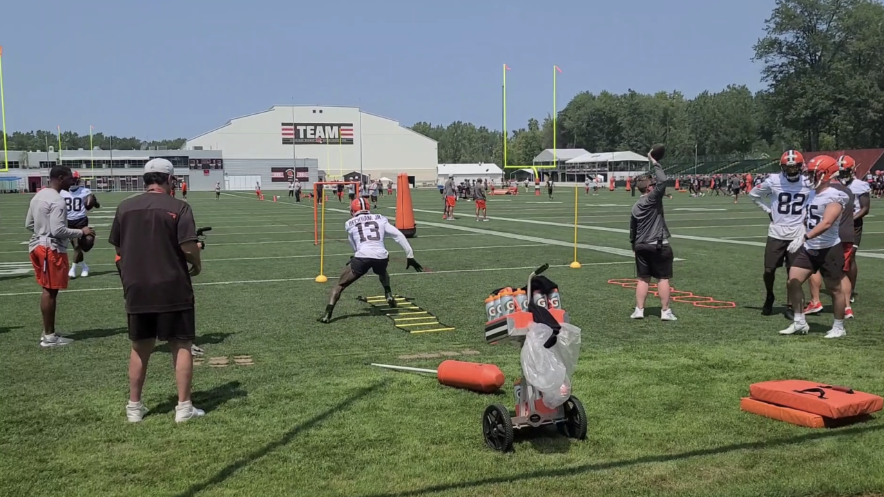 Browns training camp 2021