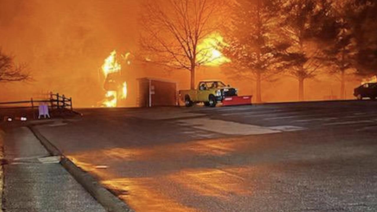 Carroll Farm Museum Fire