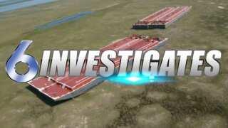 6 Investigates Follows-Up: Huge Barges still stuck on St. Joe's