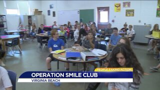 Virginia Beach teacher honored for her work with Operation Smile club