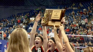 Huntley Project sweeps way to 11th State B volleyball title