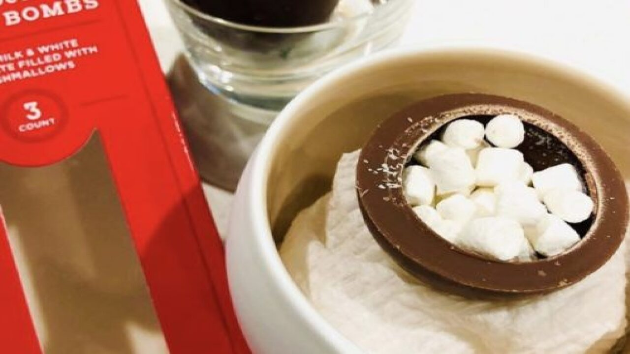 'Hot Cocoa Bombs' Are The Most Fun Way To Make Hot Chocolate