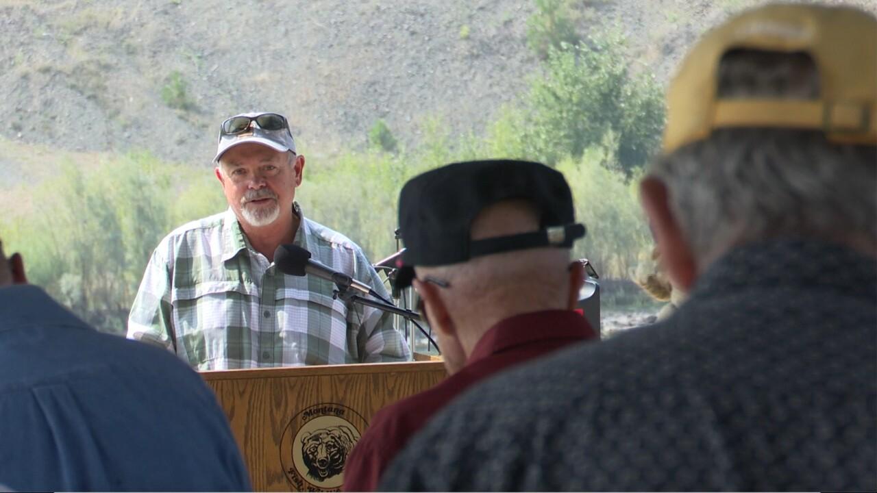 Kim Briggeman presents at Milltown State Park
