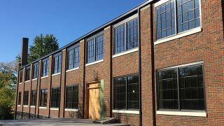 Historic Garment Factory in downtown Franklin being restored, now event center