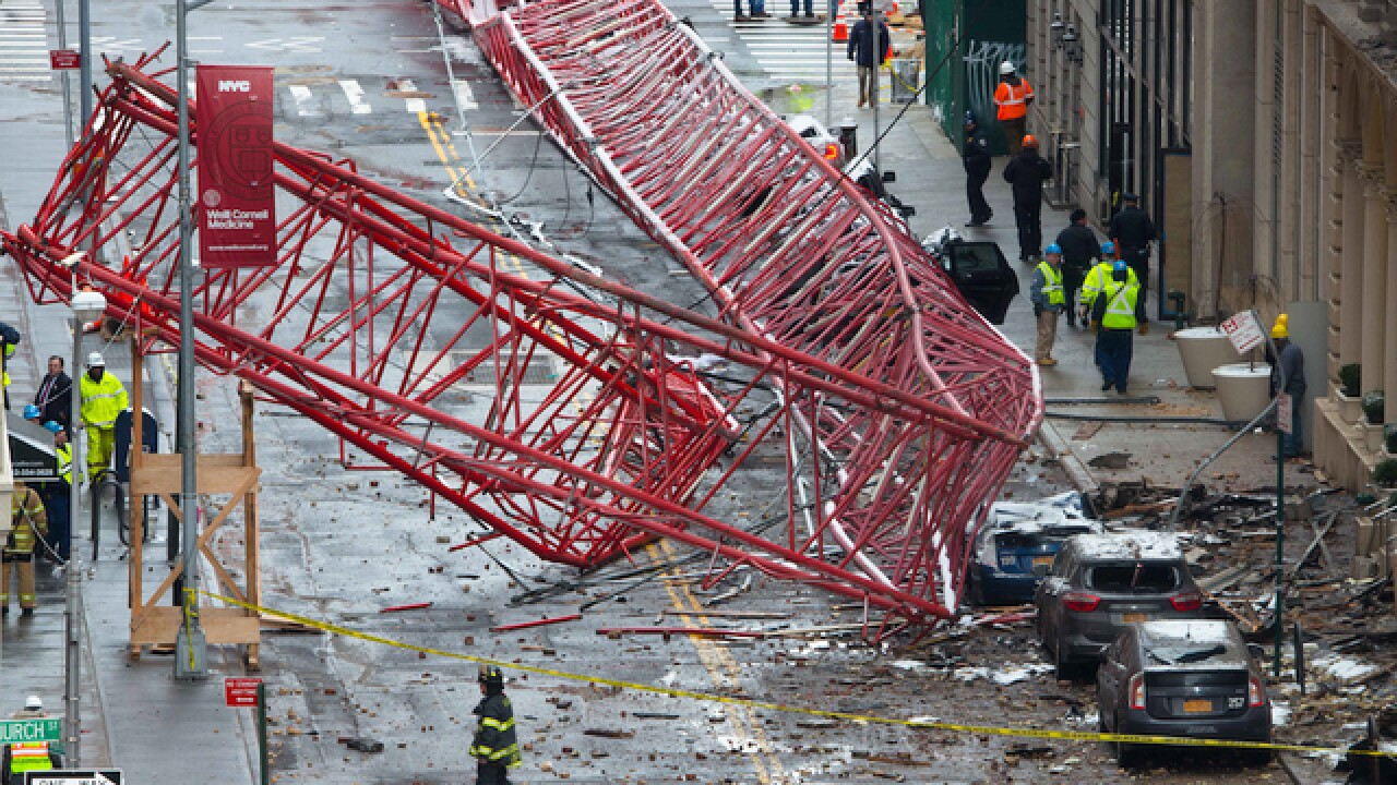Cause of NYC crane collapse under investigation